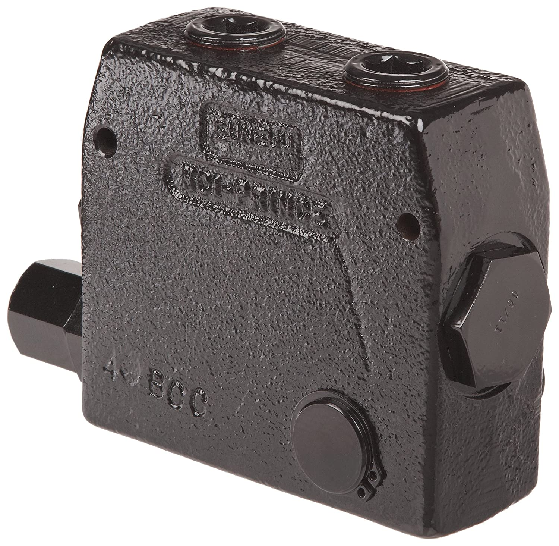0-30 gpm Prince RDRS-175-30 Flow Control Valve 3//4 NPTF Adjustable Pressure Relief Cast Iron 3000 psi