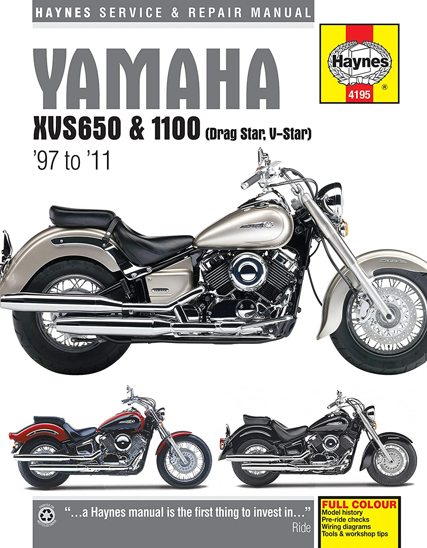 04 05 Yamaha Xvs11a Haynes Repair Manual Automotive 1100 Wiring Diagram