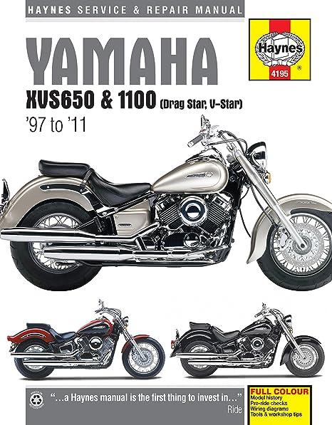 amazon com 04 05 yamaha xvs11a haynes repair manual automotive rh amazon com Yamaha V-Star 650 Classic Custom 2001 yamaha v star 650 classic repair manual