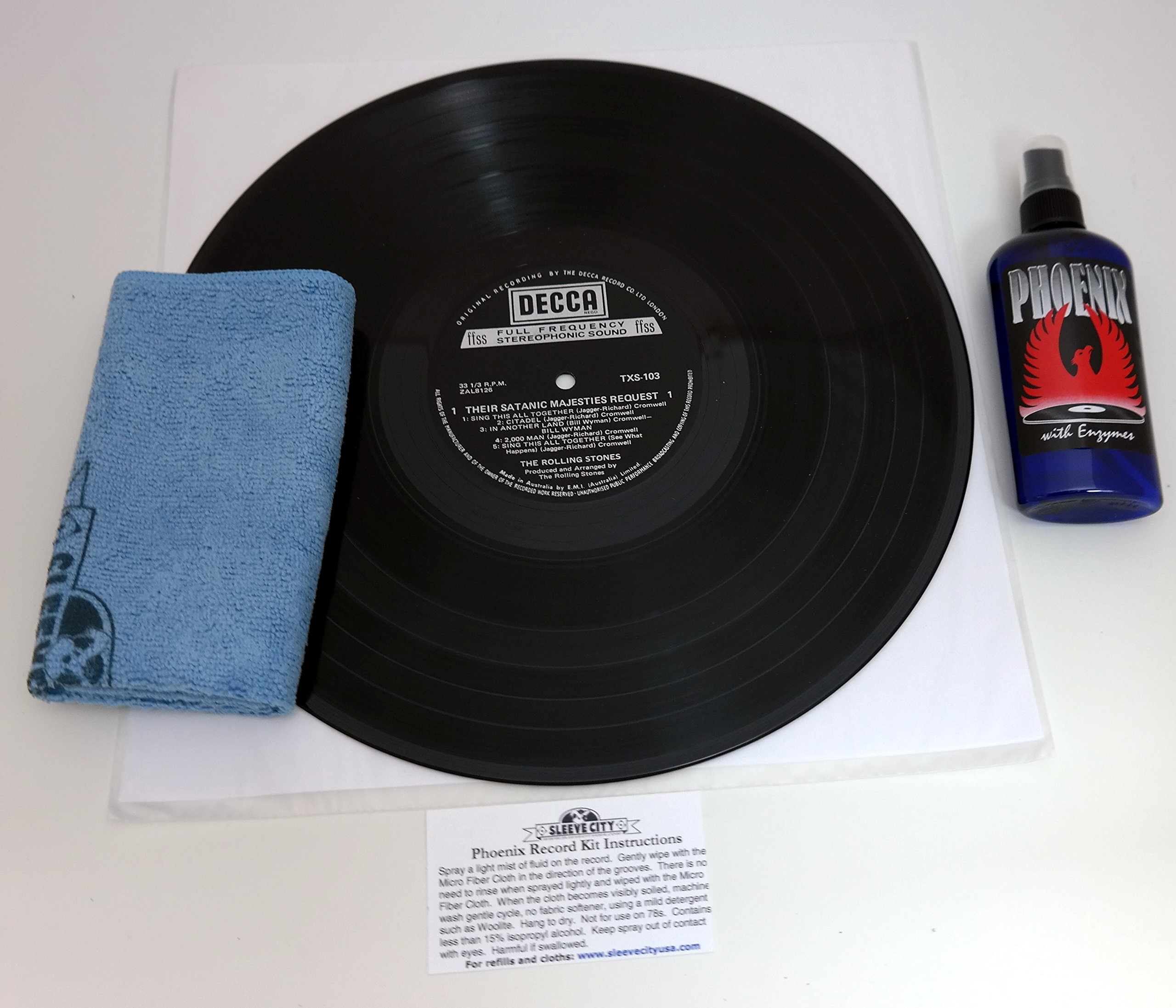 Phoenix Record Cleaning System for Vinyl (4 oz.) by Sleeve City