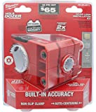 """Milwaukee 49-22-4073 Polycarbonate 1-3/8"""" - 1-3/4"""" Door Lock and Deadbolt Installation Kit with Included Hole Saw, Auto-Centering Guide and Non-Slip Clamp (Drill / Driver Not Included)"""