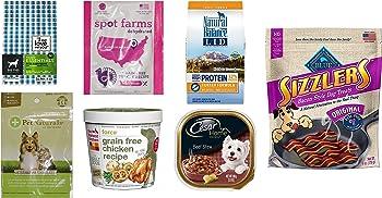 Dog Food and Treats Sample Box + $11.99 Amazon.com Credit