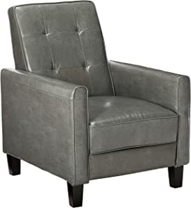 Christopher Knight Home Jameson 9-Panel Recliner, Dark Grey
