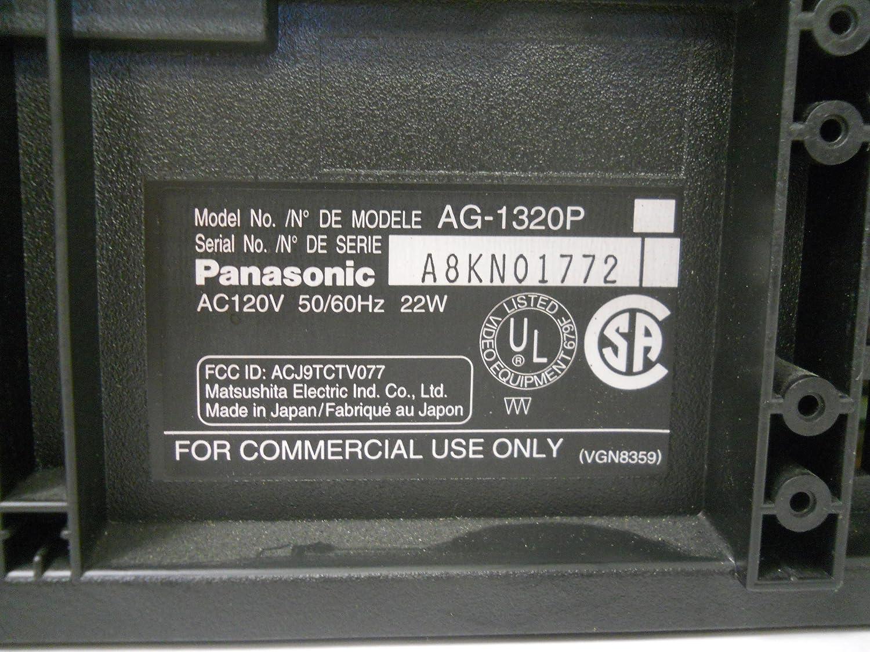 Panasonic VCR AG-1320 AG1320P Pro Line Super 4 Head SQPB VHS Video Cassette Recorder Player VCR