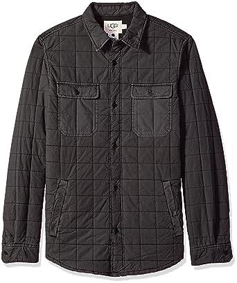 Ugg Mens Quilted Shirt Jacket At Amazon Mens Clothing Store