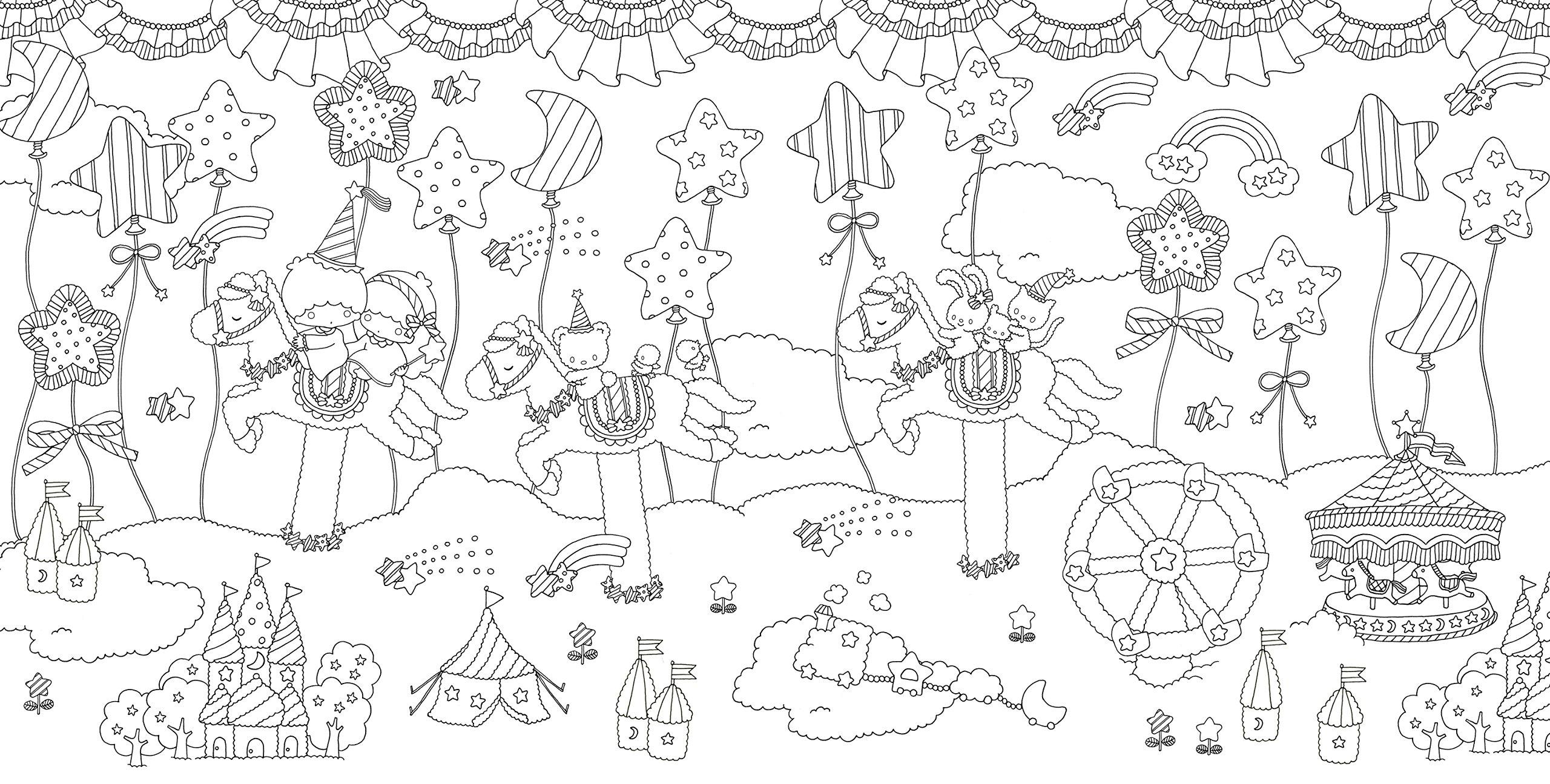 サンリオキャラクター塗り絵ブック Smile 株式会社サンリオ 布川
