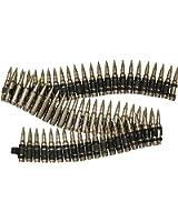 Genuine Bullet Belt (Chrome - With Tips)