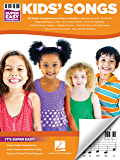 Kids' Songs - Super Easy Songbook (English Edition)