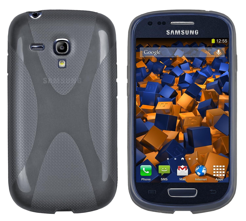 Mumbi X - Carcasa para Samsung Galaxy S3 Mini, Color Gris