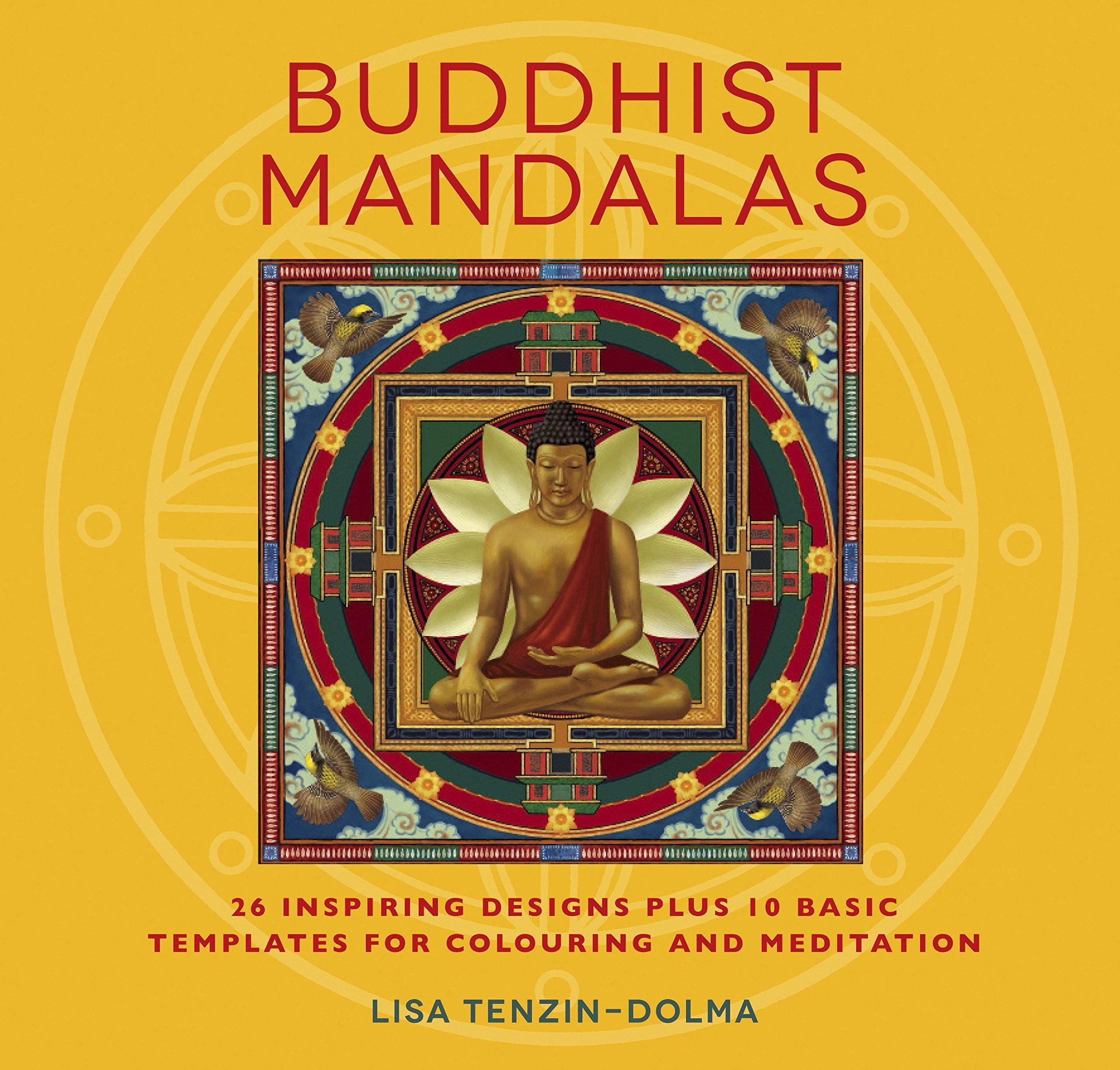 Amazon.com: Buddhist Mandalas: 26 Inspiring Designs for Colouring ...
