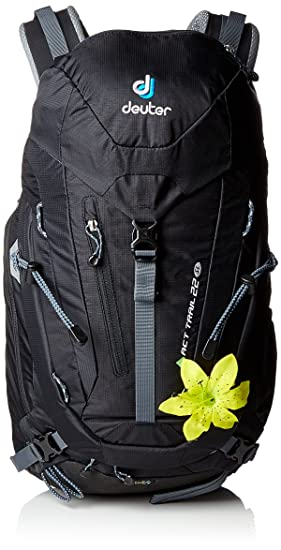 Deuter Act Trail 22 SL Mochila, Unisex Adulto, Negro (Black), 24x36x45 cm (W x H x L): Amazon.es: Deportes y aire libre