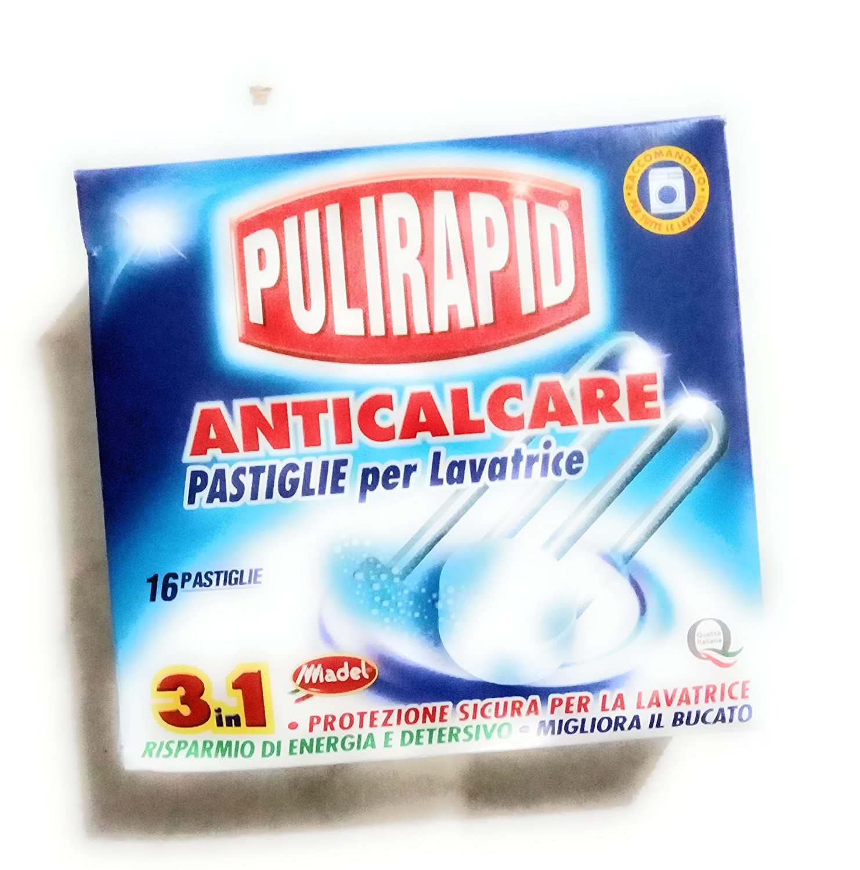 pulirapid Pastillas para Lavadora antical 16 pastillas: Amazon.es ...