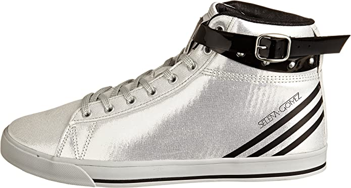 adidas Neo Daily Wrap Selena Gomez Silver Womens Trainers