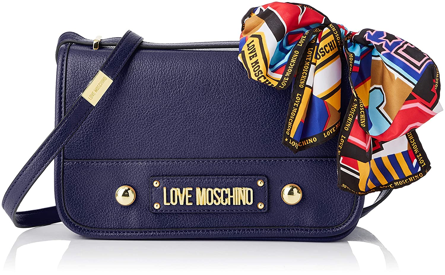 05fcd0a71 Amazon.com: Love Moschino Grain Pu, Women's, Blue (Blu), 15x10x15 cm (W x H  L): Shoes