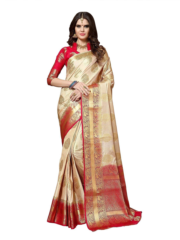 Best Silk Saree with Blouse Piece