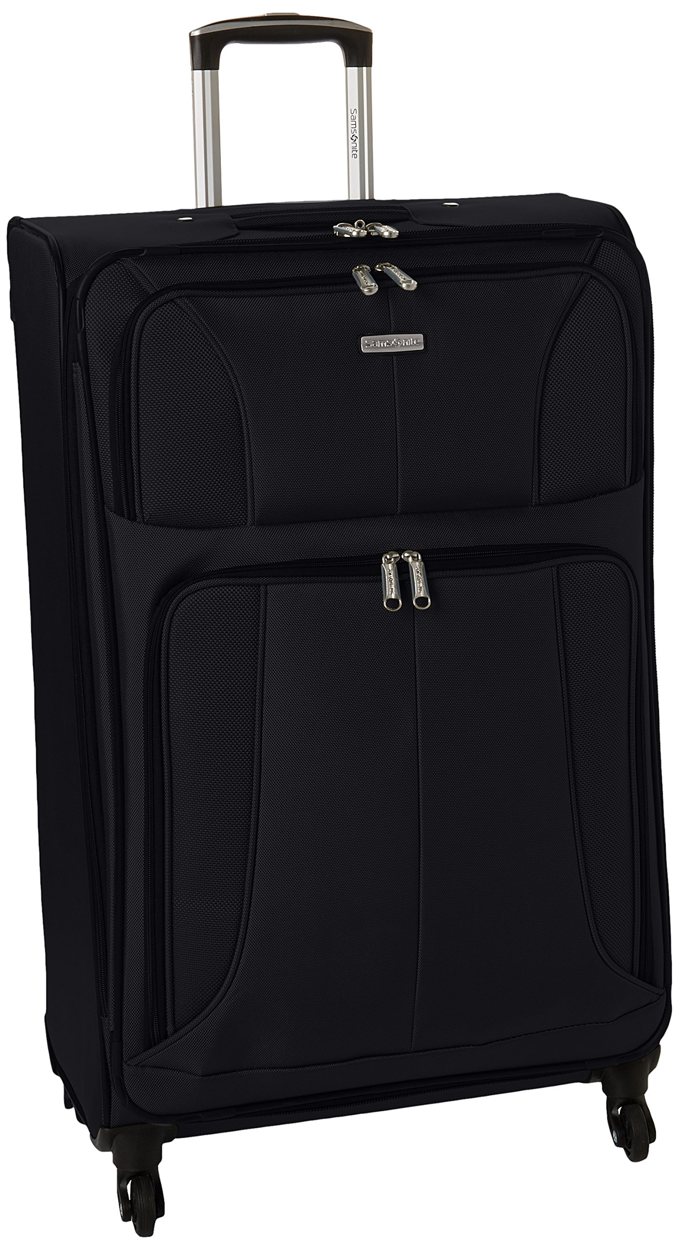 Samsonite Aspire Xlite Expandable Softside Checked Luggage with Spinner Wheels, 25-Inch, Black