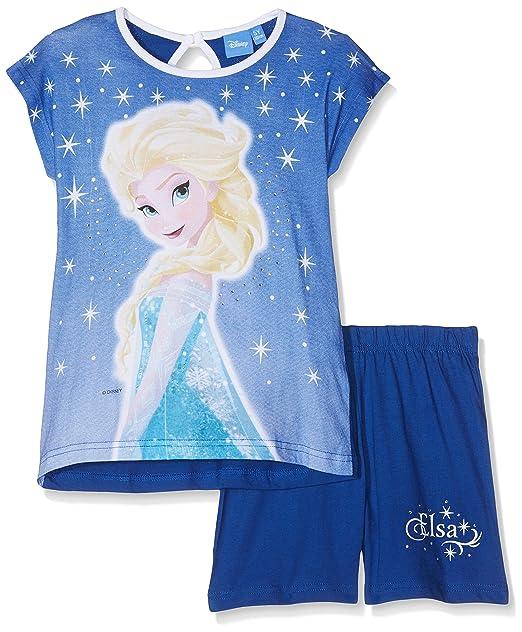 Disney 43932/10AZ, Pelele para Dormir para Niñas, Azul (Bluette 643)