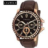 Laurels Lo-cp-101 Analog Black Dial Men's Watch-Lo-Cp-101