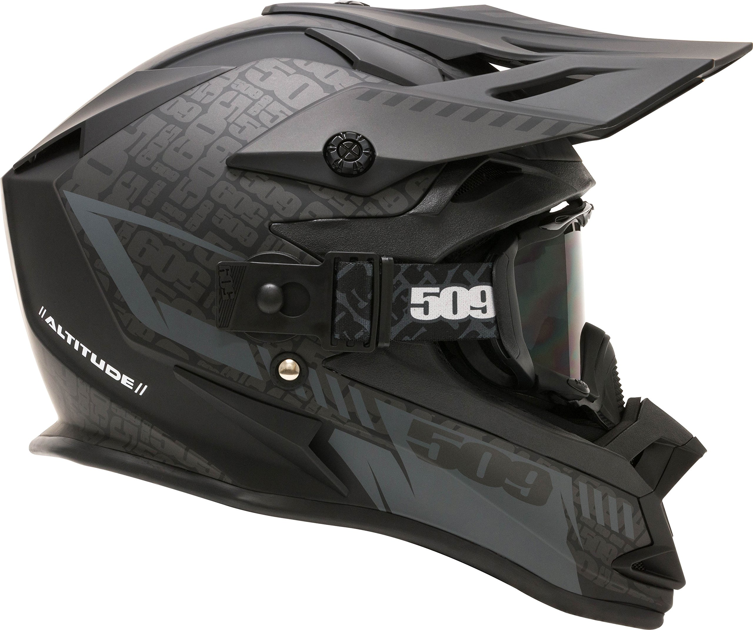 509 Black Quick Straps for Sinister X5 Goggles