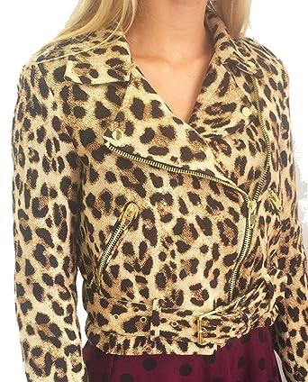 Zara de las mujeres Animal Print chaqueta 7794/300: Amazon.es: Ropa y accesorios