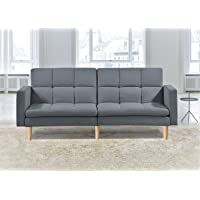 Sofa Sofabed Lounge New York *Includes SOFABED Feature* Genuine Wooden Legs HOTSHOPPA