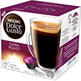 NESCAFÉ Dolce Gusto Coffee Capsules – Dark Roast – 48 Single Serve Pods, (Makes 48 Cups)        48 Count