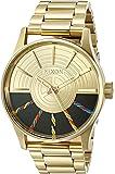 Nixon Men's 'Sentry SS SW, C-3PO Gold' Quartz Stainless Steel Casual Watch (Model: A356SW-2378-00)
