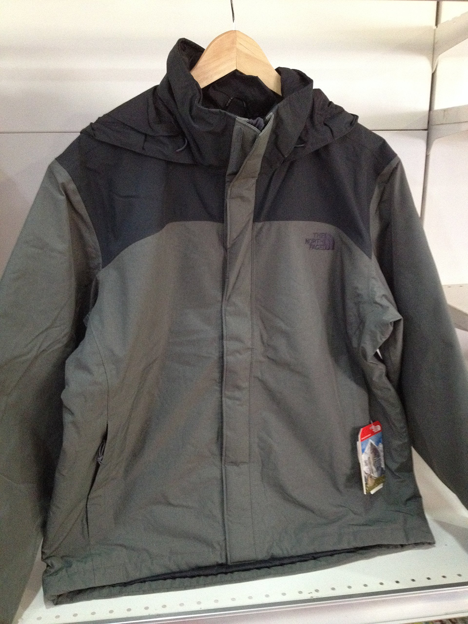 M RESOLVE JACKET L gray by The North Face (Image #1)