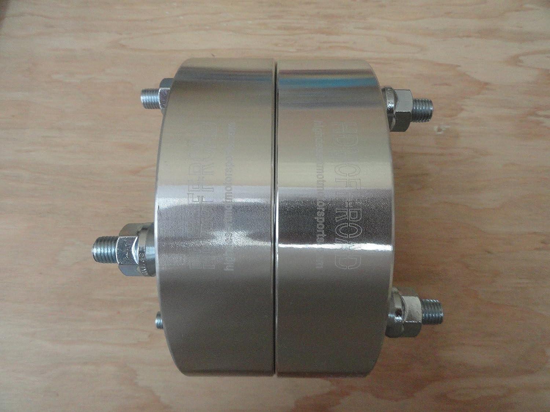 1.5 4//115 REAR Wheel Spacers Yamaha Raptor 125 250 350 660 700R YFM Billet HDM