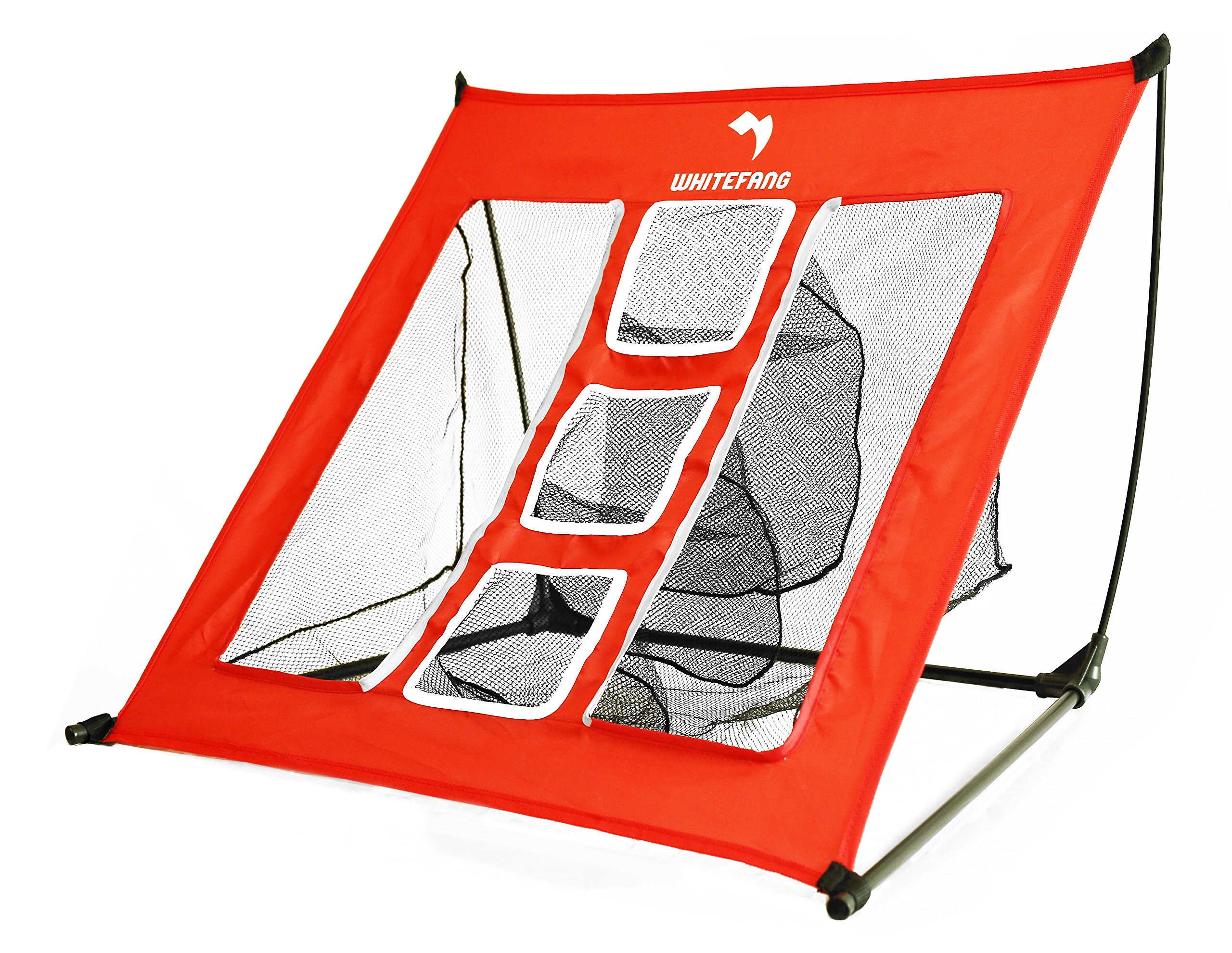 Whitefang Golf Net 3.0,Golf Accessories Chipping Net with Sturdy Structure and Simple Storage Instruction for Backyard Driving,Indoor,Outdoor
