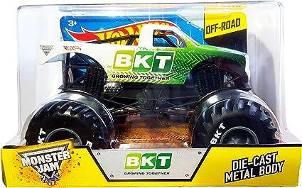 Amazon Com Hot Wheels Off Road Monster Jam 1 24 Bkt Growing Together Toys Games