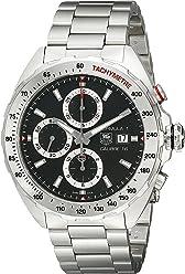 TAG Heuer Mens CAZ2010.BA0876 Analog Display Swiss Automatic Silver Watch