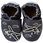 Robeez Flying High Crib Shoe (Infant/Toddler),Navy,0-6 Months M US Infant