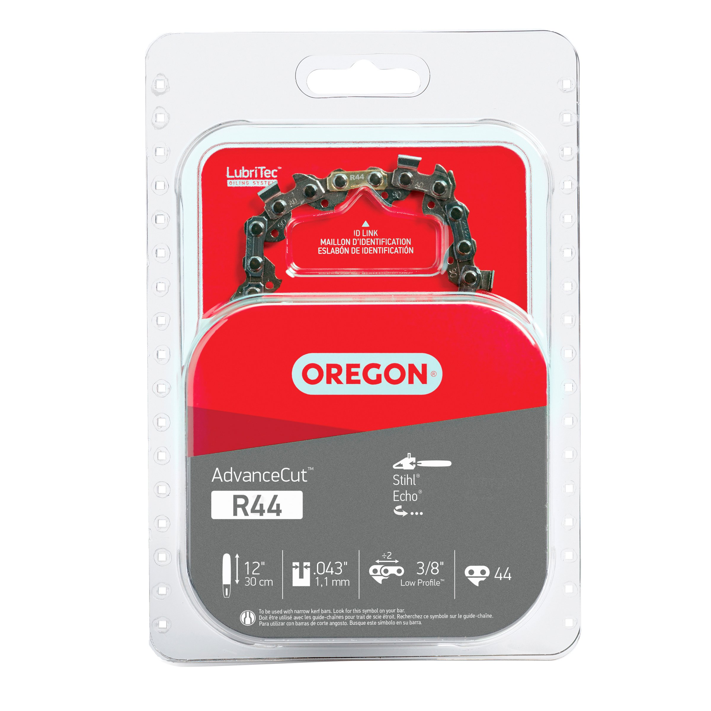 Oregon R44 AdvanceCut 12-Inch Chainsaw Chain Fits Stihl, Echo by Oregon