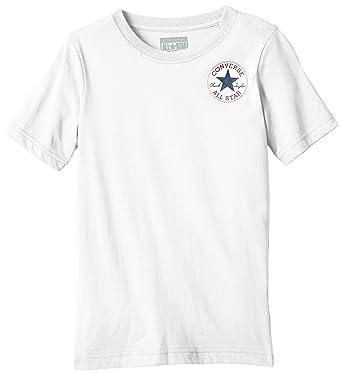 55974504e6b6 Converse Boy s Left Chest T-Shirt  Converse  Amazon.co.uk  Clothing