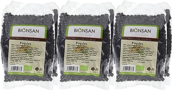 Bionsan Fríjoles Ecológicos - 6 Bolsas de 500 gr - Total: 3000 gr: Amazon.es: Alimentación y bebidas