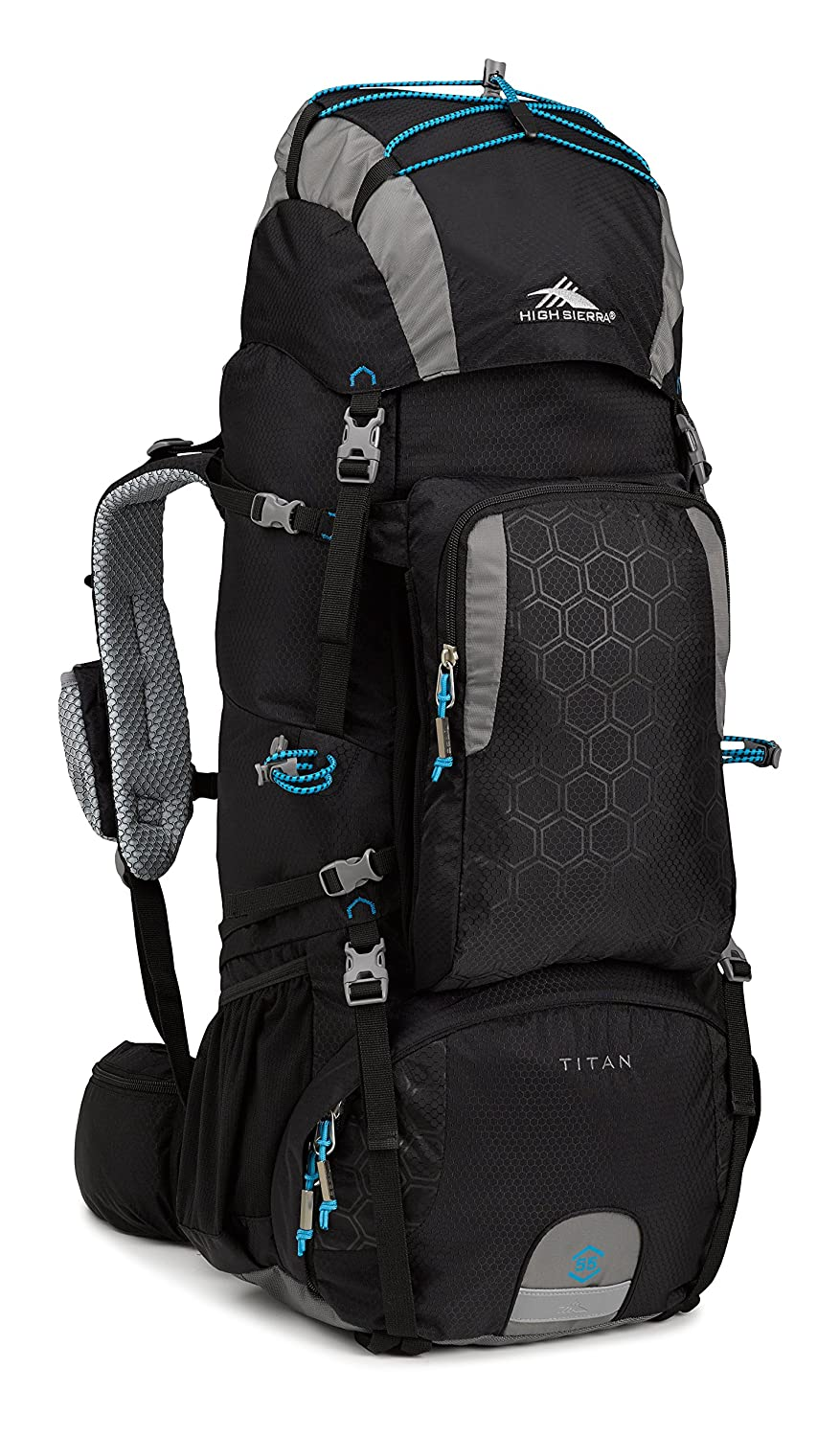 Amazon.com : High Sierra Tech 2 Series Titan 55 Internal Frame Pack ...