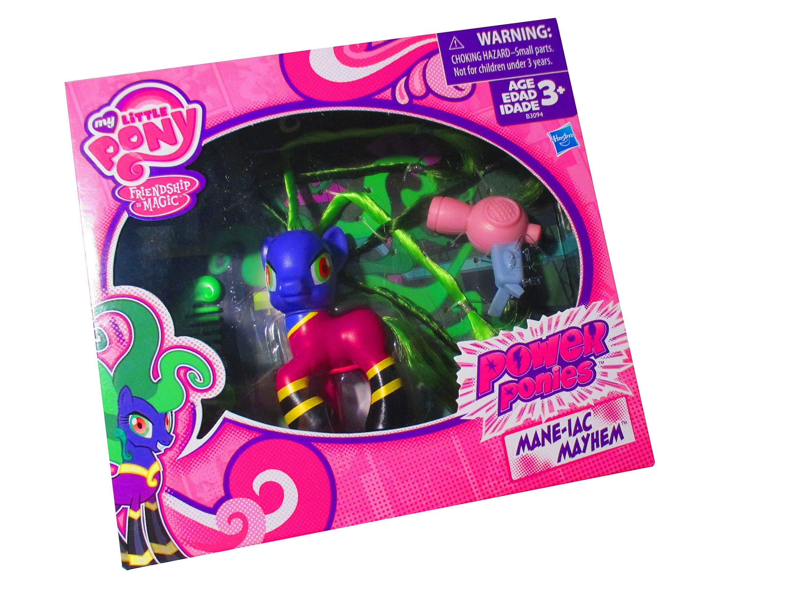 My Little Pony Power Ponies Mane-iac Mayhem Exclusive
