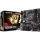 Gigabyte GA-AB350M-D3H Motherboard (Socket-AM4, Chipset-B350, Micro ATX, M.2 Socket 3, 4x DDR4 Dual Channel Slots, PCI-Ex16)