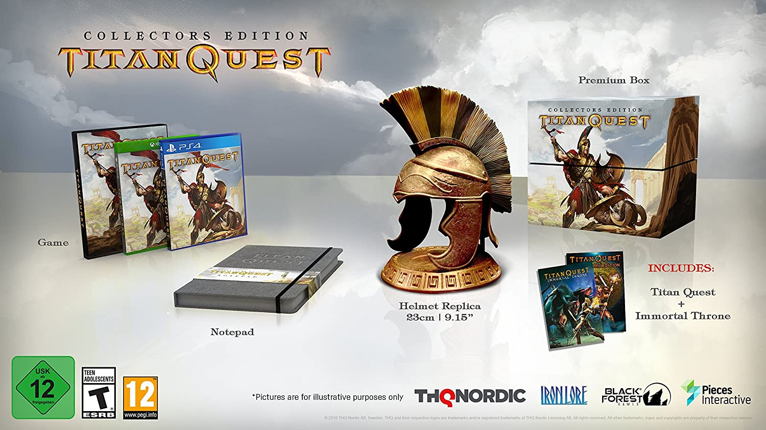 Amazon com: Titan Quest: Collector's Edition - PlayStation 4