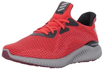 Adidas Originals hombre 's AlphaBounce 1 m corriendo zapatos , core Rojo
