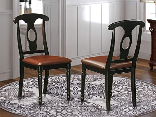 East West Furniture Napoleon-Styled dining chair
