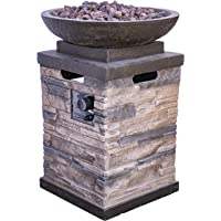 Bond Manufacturing Newcastle 20-lb. Propane Gas Firebowl Heater (Natural)