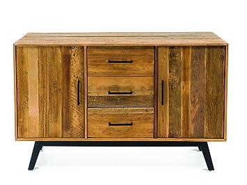 Credenza Industrial Fai Da Te : Rspl buffet credenza industrial design eco chic legno massello