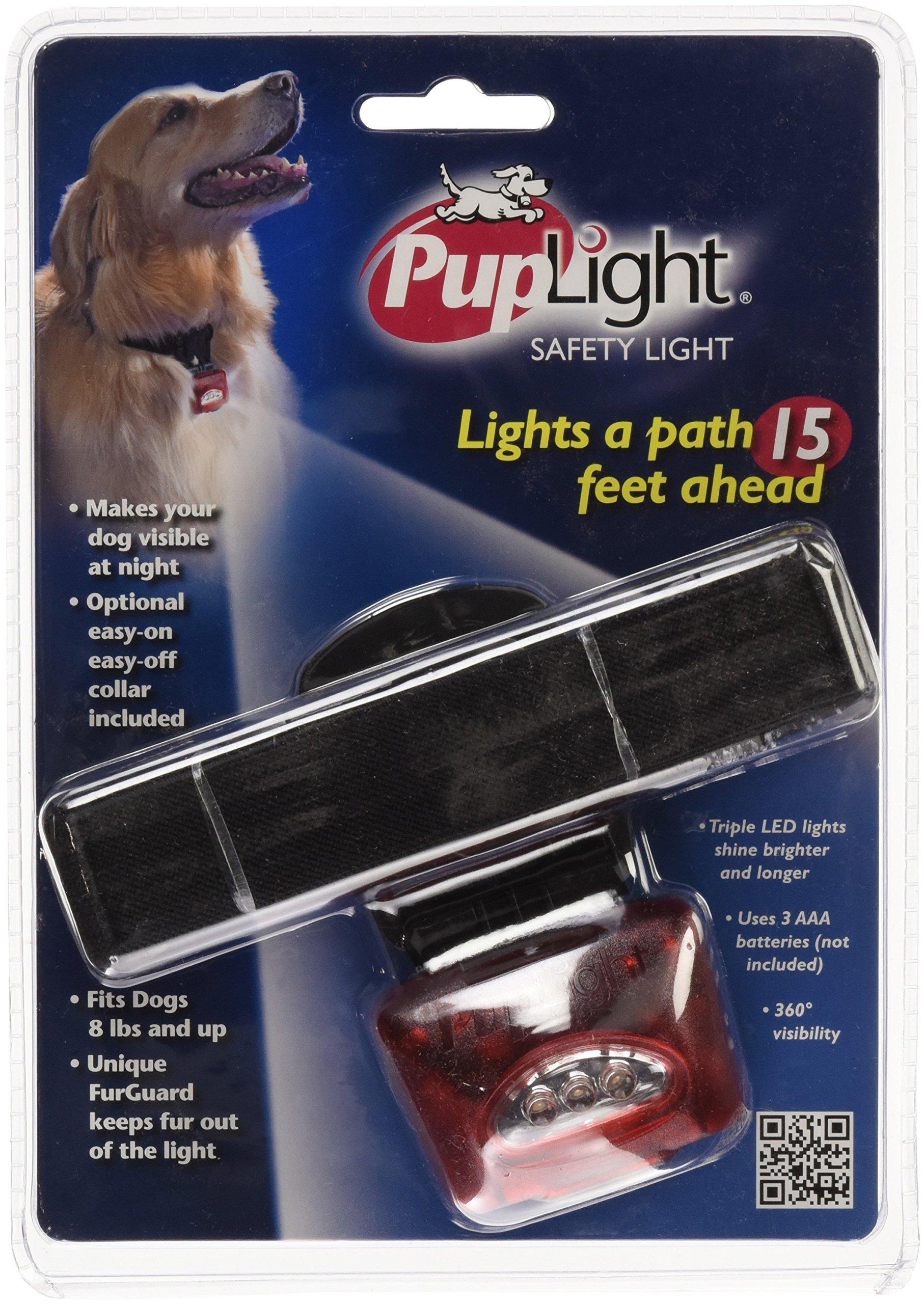 PupLight Dog Safety Light, Red by PupLight (Image #1)