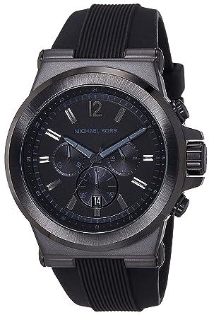 ed94372a87f7a Amazon.com  Michael Kors Black Dylan Watch Mk8152  Watches