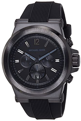 bf0b9851b8a2 Amazon.com  Michael Kors Black Dylan Watch Mk8152  Watches
