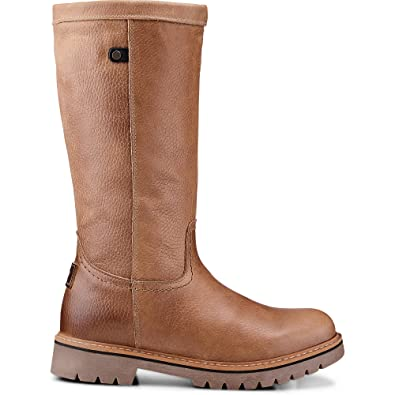596f69e985412b Cox Damen Damen Winter-Stiefel aus Leder