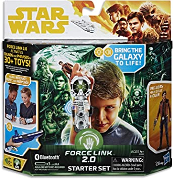 Star Wars The Last Jedi Force Link Starter Set Bring The Galaxy Indoor Game