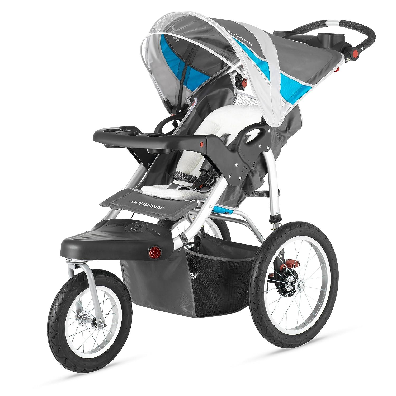reebok jogging stroller. Schwinn Turismo Swivel Single Jogger Reebok Jogging Stroller